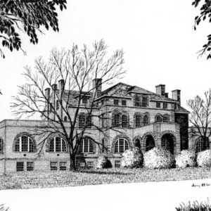 Holladay Hall at North Carolina State University 1889