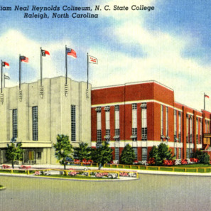 William Neal Reynolds Coliseum North Carolina State College