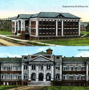 North Carolina State College of Agricultural and Engineering buildings