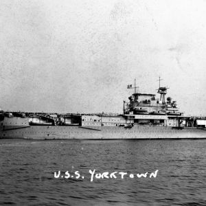 Battleship the USS Yorktown