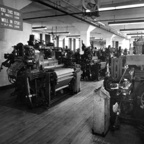 Textile weaving lab