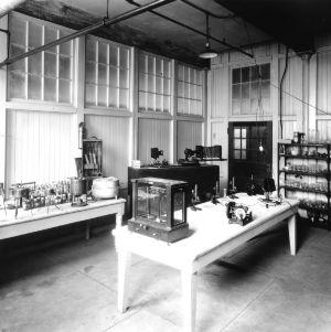 Tompkins Hall. Ground floor -- Textile chemistry