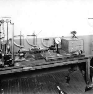Laboratory equipment (probably in Tompkins Hall)