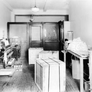 Interior view of a laboratory