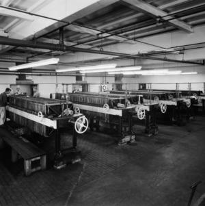 Textile filter press room