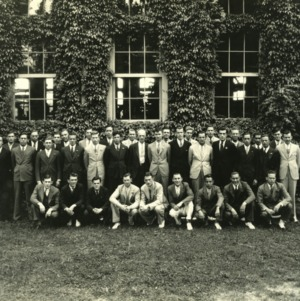 Senior class, Textile School of North Carolina State College