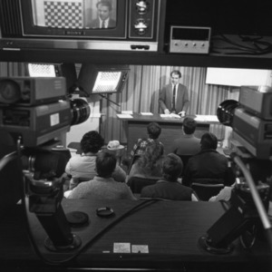 Television taping of a distance education course as part of TOP program