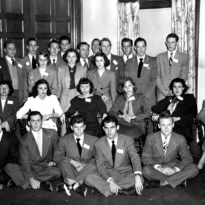Greater University of North Carolina Student Council, 1949