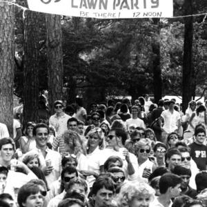 Delta Sigma Lawn Party, 1985