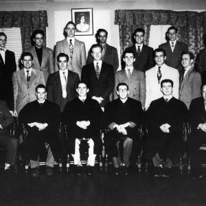Blue Key initiation, 1949-1950