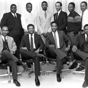 Alpha Phi Alpha fraternity group portrait
