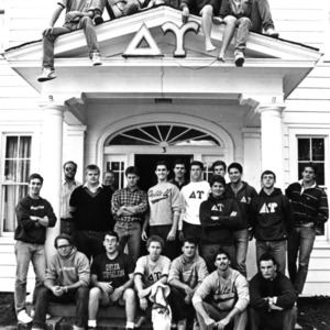 Delta Upsilon fraternity group portrait