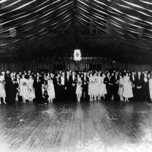 Pi Kappa Alpha dance, Thompson Gym, Easter Monday, April 5, 1926