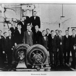Mechanical Society group photo