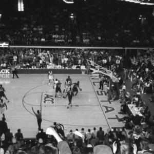 Last regular season Atlantic Coast Conference basketball game in Reynolds Coliseum vs. Florida State, 1999
