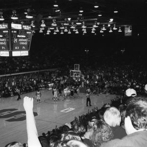 Last basketball game in Reynolds Coliseum vs. Princeton, 1999