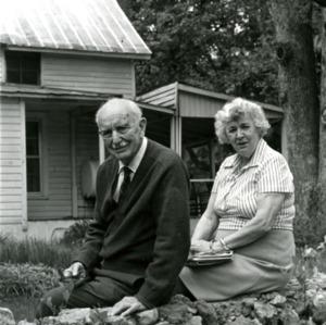 Dr. Bertram Wells and wife Maude