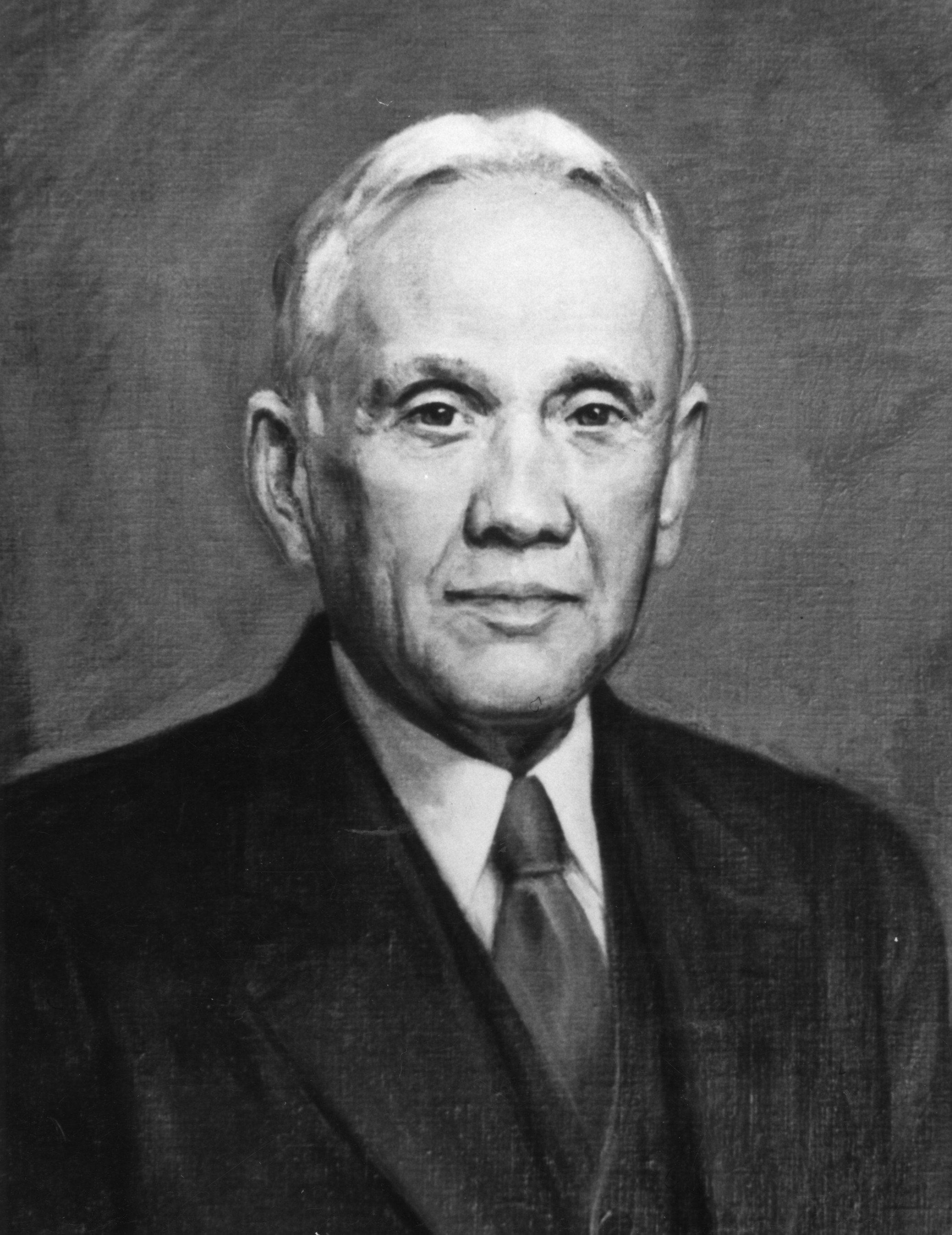 Portrait of Benjamin W. Kilgore, director of research 1912-1924, director of extension 1914-1924, dean of agriculture 1923-1925