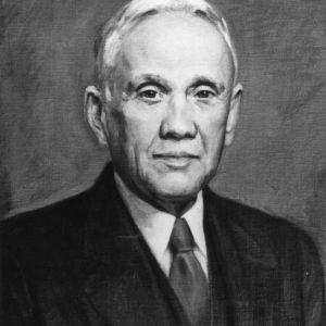 Benjamin W. Kilgore painted portrait