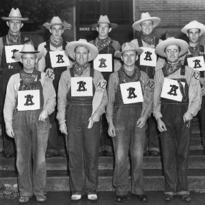 1948 fall class of Alpha Zeta, the agricultural fraternity