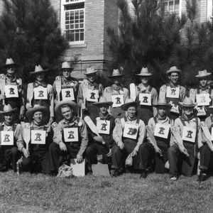 1949 fall class of Alpha Zeta, the agriculutral honor society