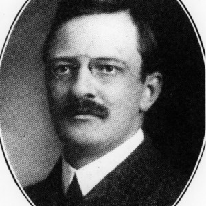 Dr. Frank Lincoln Stevens portrait