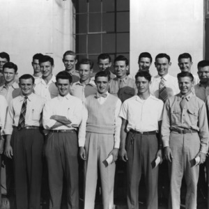 Sears Roebuck Scholars at North Carolina State College, October 1948
