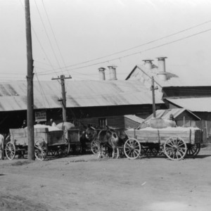 Cotton gin in King's Mountain, NC, 1934