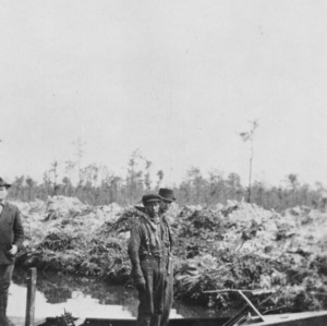 Completing soil survey of Columbus County, August 1916