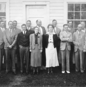 1936 Oxford project conference attendees