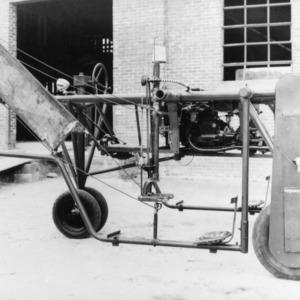 Tobacco tying machines