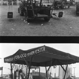 Powell Tobacco Harvester at the State Fair