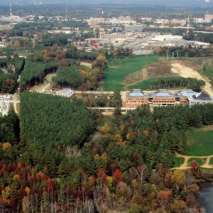 Aerial view of Centennial Campus