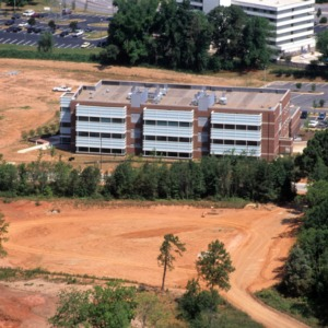 Aerial view of Partners II site on Centennial Campus