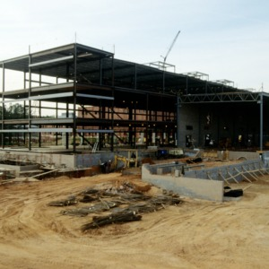ABB Building construction on Centennial Campus