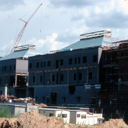 College of Textiles construction, Centennial Campus, North Carolina State