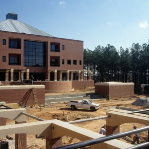 College of Textiles construction on Centennial Campus