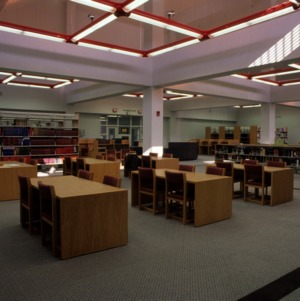 Inside Textiles Library at Centennial Campus