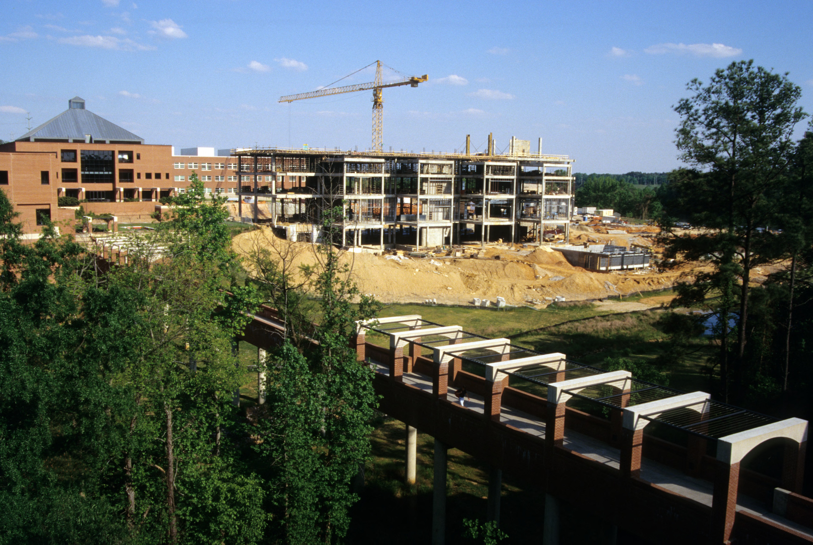 Engineering Graduate Research Center construction, Centennial Campus, North Carolina State