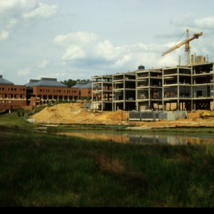 Engineering Graduate Research Center construction on Centennial Campus
