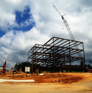 Lucent construction, Centennial Campus, North Carolina State