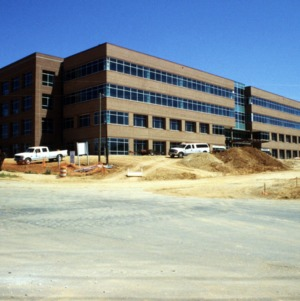 Lucent construction on Centennial Campus