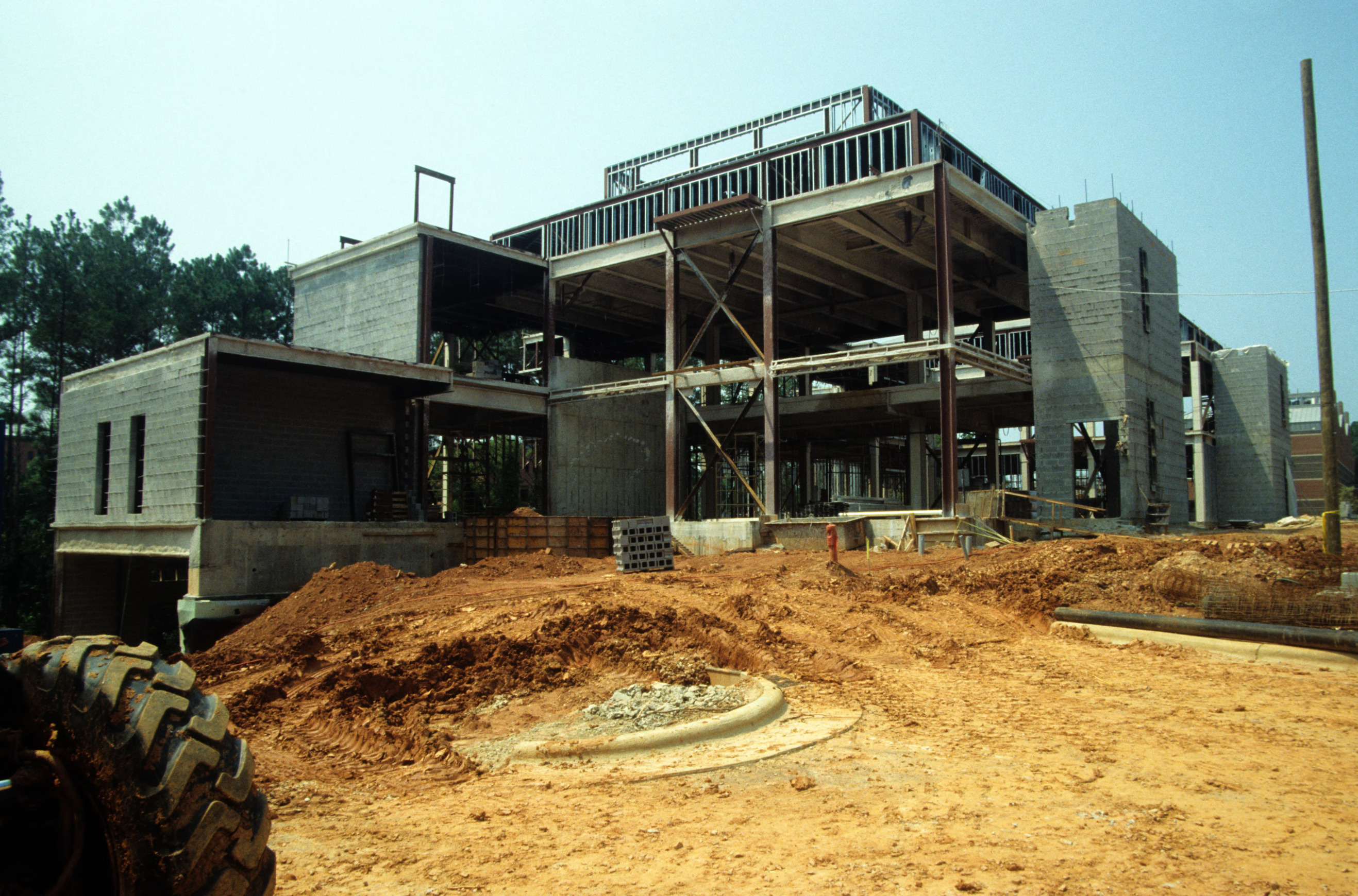 Research II construction, Centennial Campus, North Carolina State