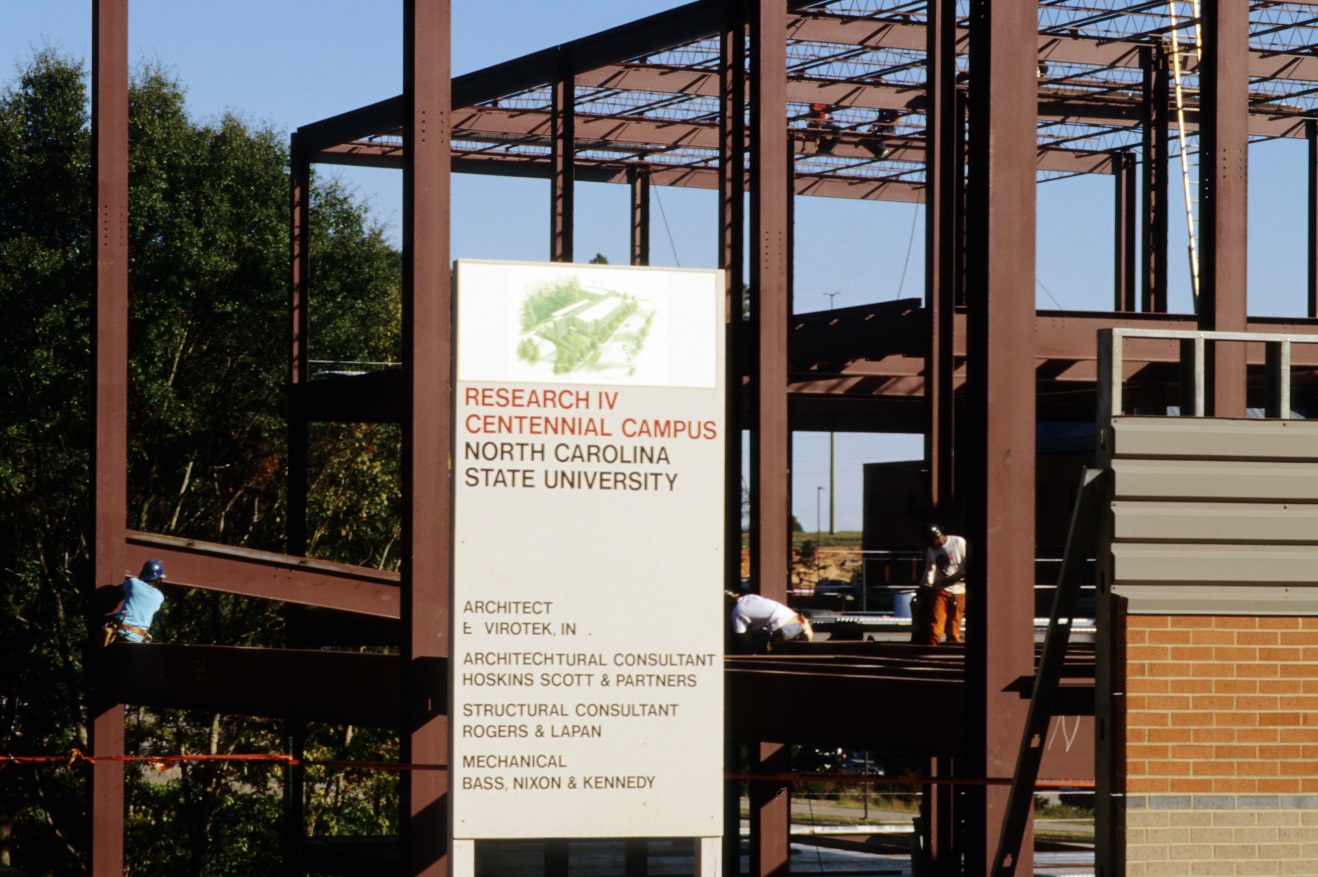 Research IV construction, Centennial Campus, North Carolina State