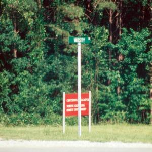 Centennial Campus signage