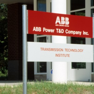 ABB Transmission Technology Institute signage on Centennial Campus
