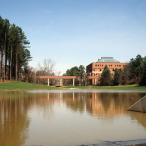 Storm Water Management pond at Centennial Campus