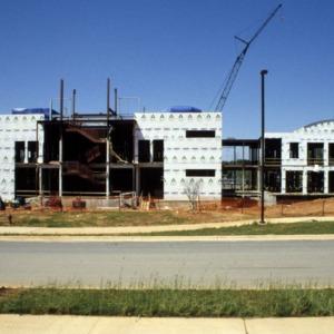Toxicology Building construction at Centennial Campus