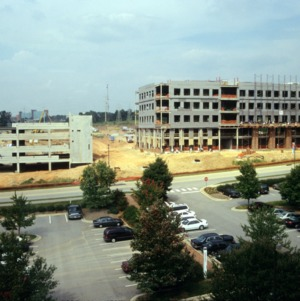 Venture I construction, Centennial Campus, North Carolina State