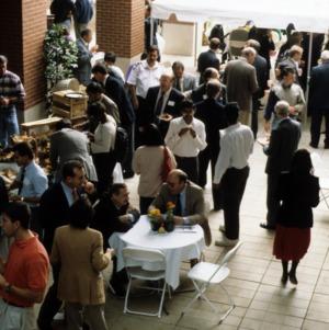 Ten year celebration set up at Centennial Campus